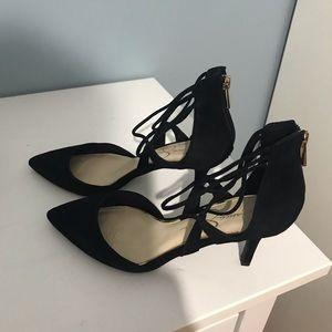 Black Suede Jessica Simpson Shoes